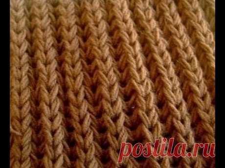 ☀ la goma Inglesa por los rayos para los principiantes ☀ la goma Inglesa ☀\/\/\/\/Knitting for beginners