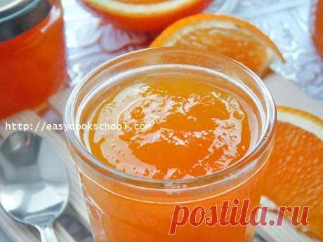 Джем из тыквы с апельсином и лимоном