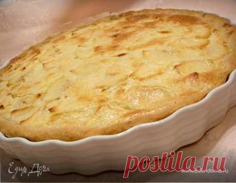 Цветаевский яблочный пирог. Ингредиенты: мука, разрыхлитель, сливочное масло