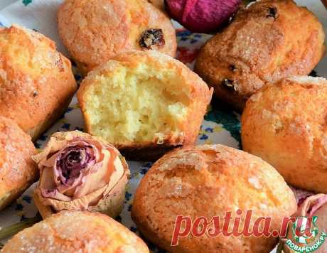 Кексы с сахарной шапочкой – кулинарный рецепт