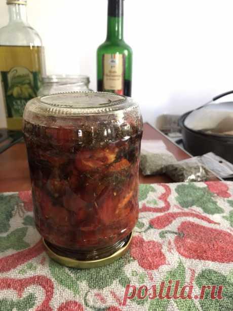 Вяленые помидоры и болгарский перец в оливковом масле - рецепт с фото пошагово