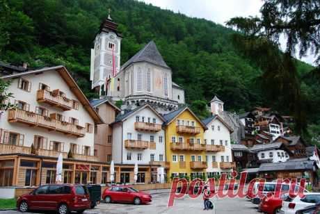 Гальштат — это затерянная среди Альп идиллическая, магическая и пасторальная деревня. Часть 8.