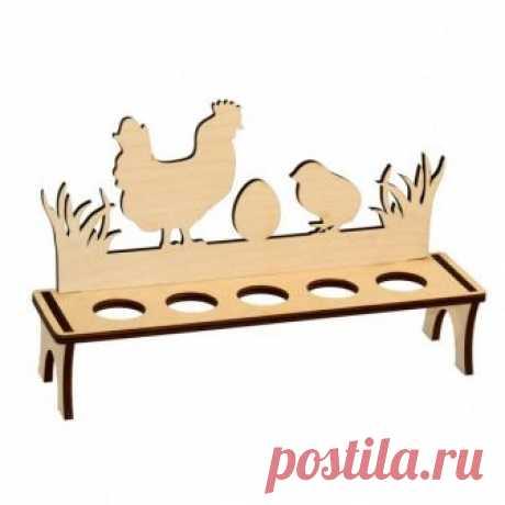 Пасхальная подставка для яиц и куличей