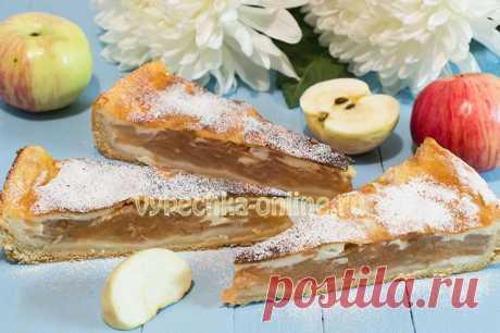✔️Пироги с яблоками без дрожжей в духовке быстро и вкусно – простые рецепты с фото