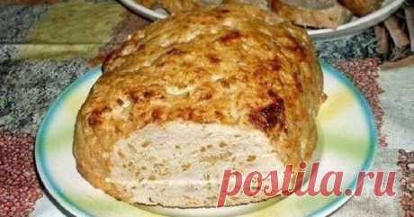 МЯСНОЙ БАТОН!  Meatloaf очень похож на хлеб, но это только на вид. Готовят его из мясного фарша.