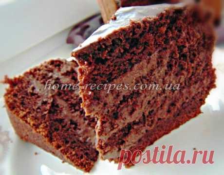 Шоколадний торт рецепт