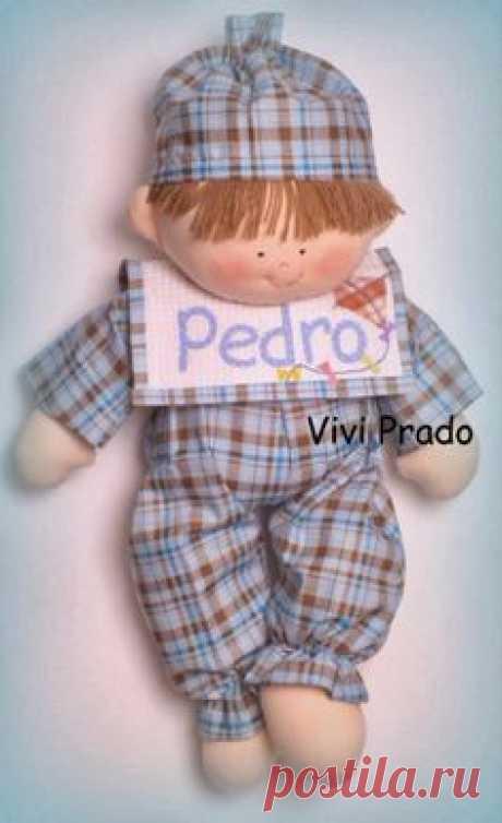 Кукла младенец от Vivi Prado