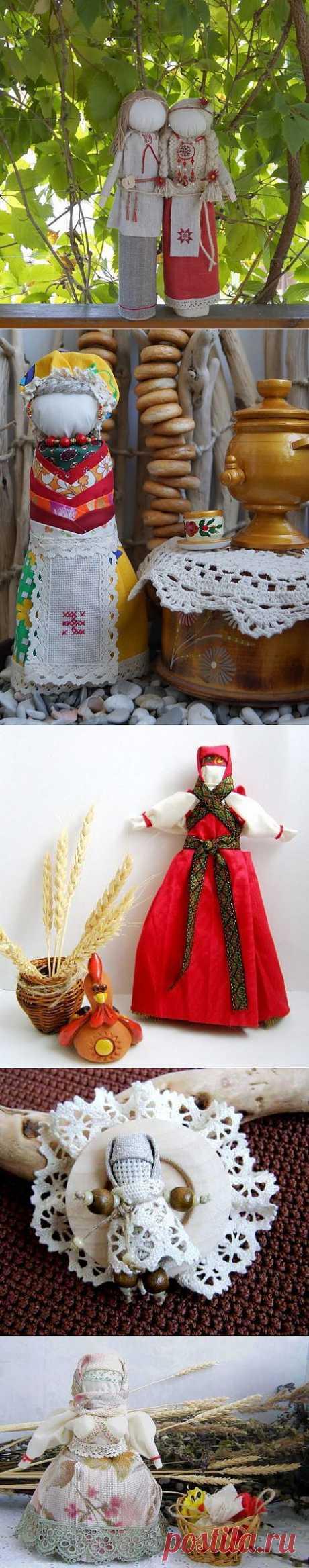 Еще немного про куклы. Куклы-обереги в Славянской культуре. Часть 2.