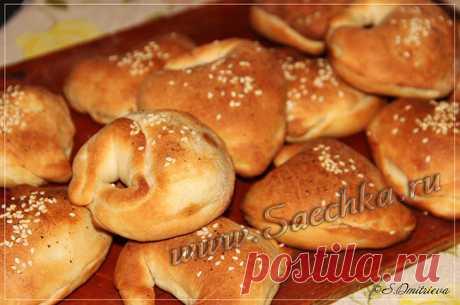 Постные пирожки - рецепт с фото Постные пирожки приготовлены с картошкой на постном дрожжевом тесте в духовке.