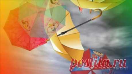 Театр песни Талисман - Зонтики - Детские видеоклипы