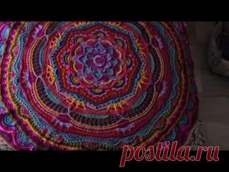 Manta Crochet Mándala Madness 18