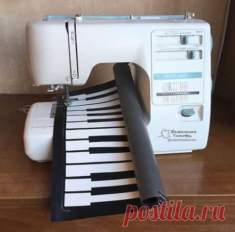 Как я шила пианино и получила красивое и практичное изделие на выходе