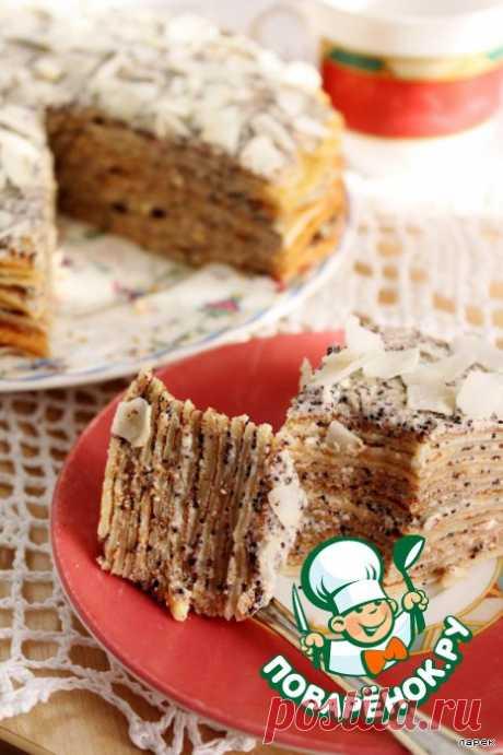 """Торт """"Емеля"""" – кулинарный рецепт"""