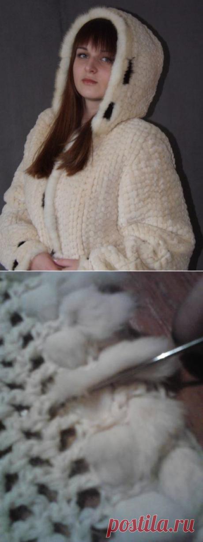 Переделки:Плетение мехом.