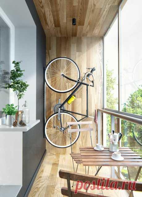 Обустройство балкона в квартире: сушим белье и отдыхаем от городской суеты. - Квартира, дом, дача - медиаплатформа МирТесен