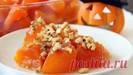 Турецкий десерт из тыквы — Фактор Вкуса