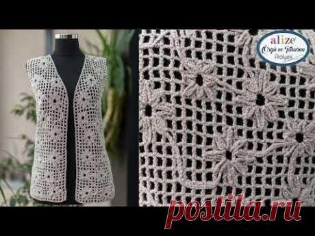 Rengi Rengine Yelek Yapımı - Making Tone-on-Tone Vest