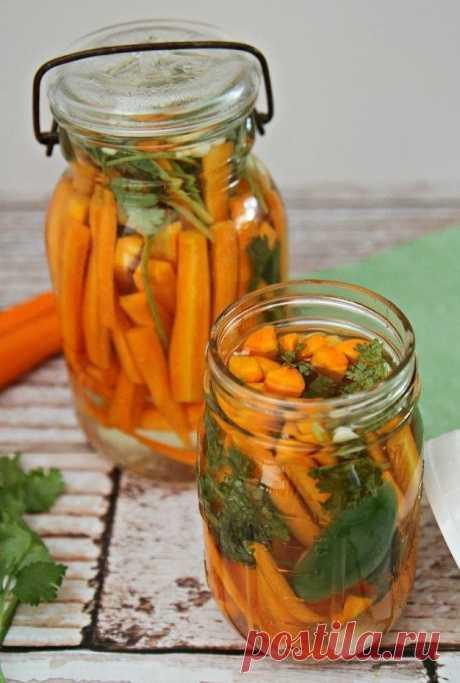 Домашние соления: пряная морковь по-мексикански