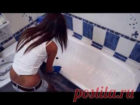 "Restoration of a bathtub ""Наливным PlastAll&quot acryle;"