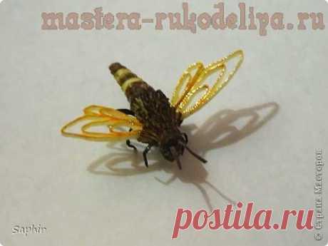 (1) Gallery.ru / Фото #1 - Мастер-класс по квиллингу: Пчелка - Vladikana