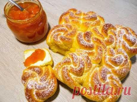 Впервые на YouTube! Абрикосовое тесто для булочек!