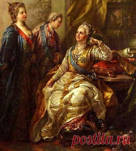 Почему Екатерина Великая не любила своего сына Павла..
