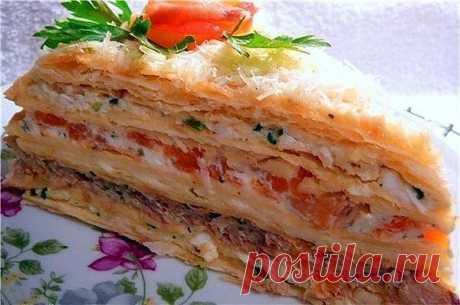 Оригинальный рецепт овощного торта «Наполеон» | Одноклассники