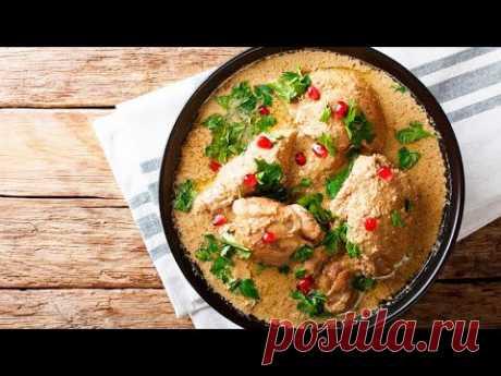 Сациви из курицы по-грузински - все тонкости приготовления! Ореховый соус | Грузинская кухня