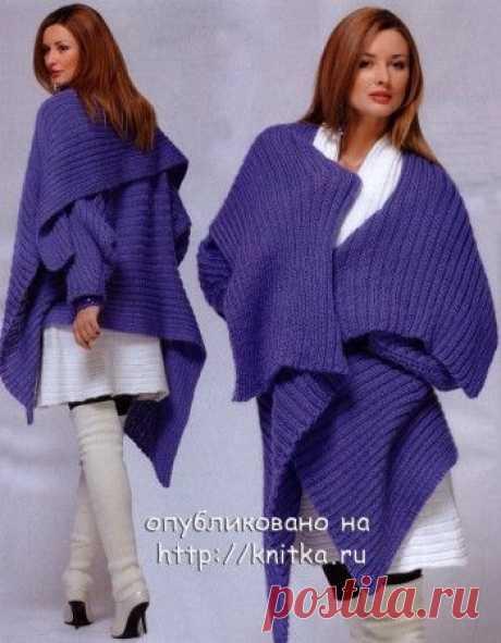 Кардиган спицами 35 моделей с описанием и схемами, Вязание для женщин