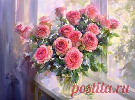 Розы в живописи. Завораживающая красота - Искусство - медиаплатформа МирТесен