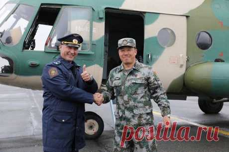 Китайские боевые вертолеты приземлились на Урале | Армия