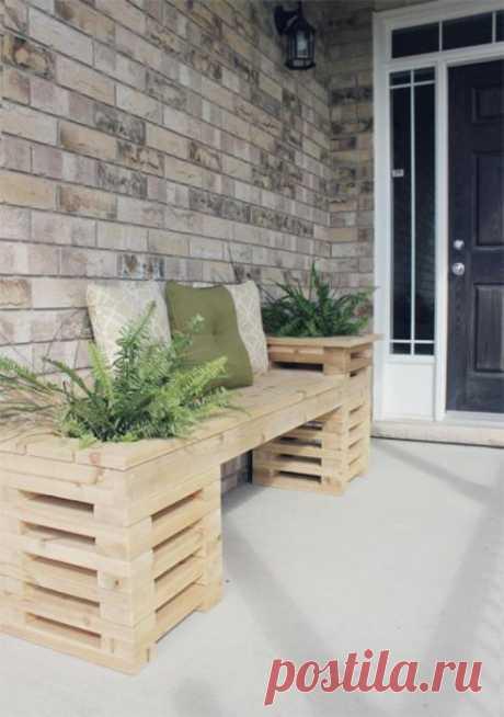 Блестящие идеи по обустройству крыльца, которое станет настоящим украшением фасада частного дома | Мой дом