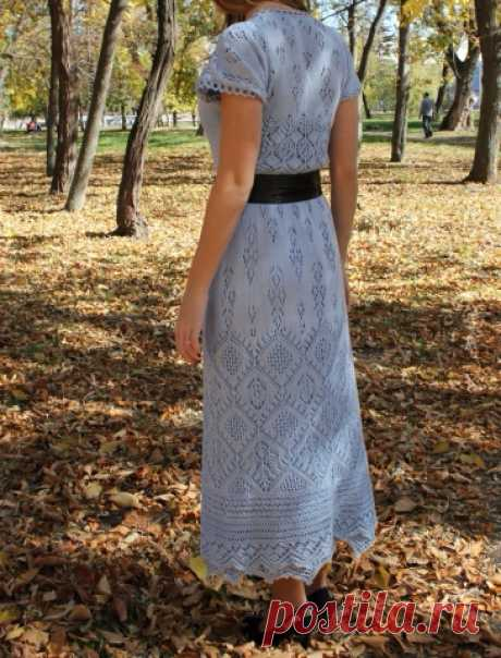 Очаровательное платье Ювента по мотивам шетландских узоров