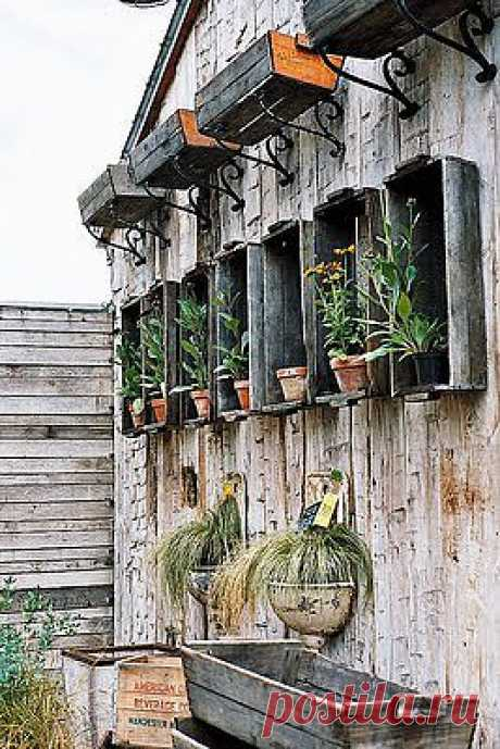 Creative application of old boxes