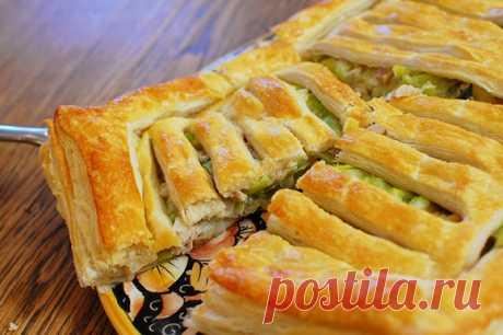 Несладкие пироги от Юлии Высоцкой: 10 простых рецептов. Кулинарные статьи и лайфхаки