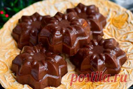 шоколадные желейные конфеты