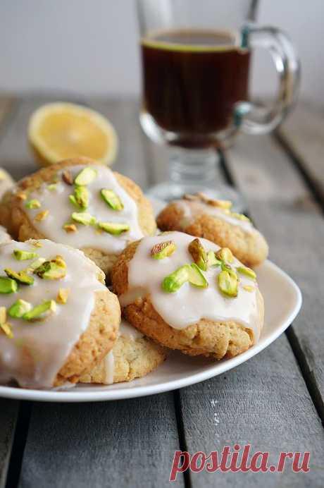 Лимонное печенье с фисташками | Andy Chef - фуд-блог и интернет-магазин