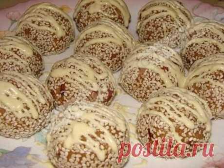 Ореховые шарики