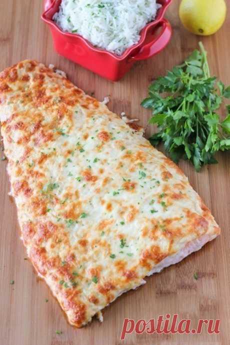 Лосось, запеченный с сыром — Sloosh – кулинарные рецепты