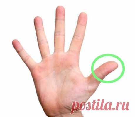 Массируя палец по 1 минуте в день, поразишься тому, что случится с твоим телом