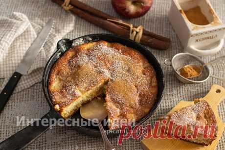 Яблочный пирог на кефире - вкуснее Шарлотки, а готовить легче | Своими руками