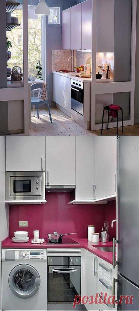 Интерьер маленькой кухни (фото). Оптимизируем пространство на маленькой кухне