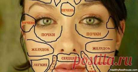 Китайская «карта лица» покажет, есть ли у вас проблемы со здоровьем Китайцы считают, что все части лица напрямую связаны с конкретными внутренними органами.Кожа – ...