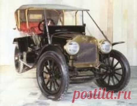 Сегодня 08 июня в 1909 году Выпущен первый серийный автомобиль российского производства