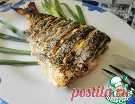 Tail of a salmon in an Asian way - the culinary recipe