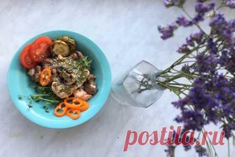 Лосось с микрогрином рецепт – русская кухня: основные блюда. «Еда»