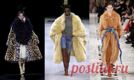 Мода Осень Зима 2019-2020 (ФОТО)