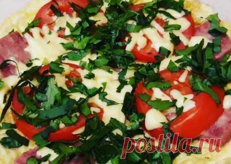 Самая вкусная пицца на сковороде за 5 мин - пошаговый рецепт с фото. Автор рецепта Анна . - Cookpad