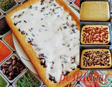 Пирог с вишней – кулинарный рецепт