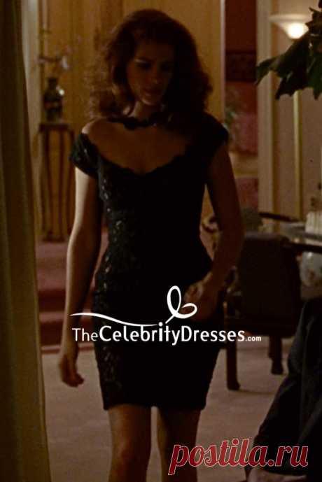 vestido negro encaje pretty woman - Búsqueda de Google